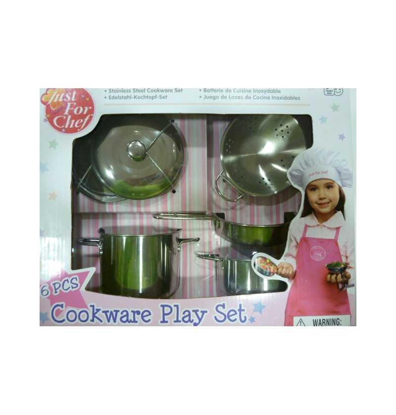 Set Cocina Acero  imitación...