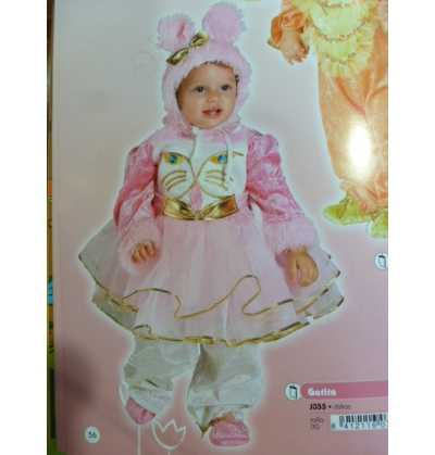 Disfraz Gatita Bebe