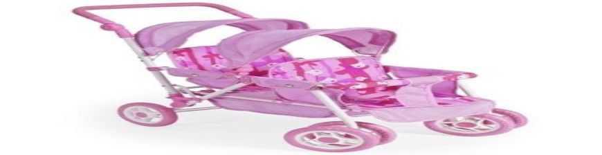 Comprar Sillas Carros de Muñecas con o sin Cuco , gemelares al mejor precio