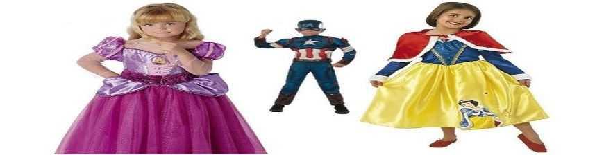 Disfraces Infantiles de 3 -14 años