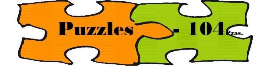 Puzzles de 104 Piezas o menos