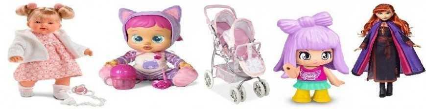 Comprar Muñecas Bebe, tipo Barbí en Juguetería TrisTras