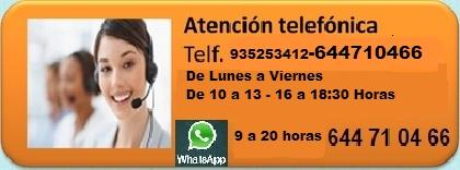 Atención Telefonica  solo  consultas