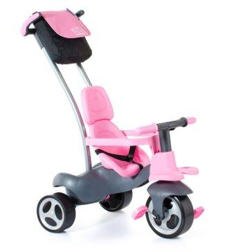 Triciclo Rosa Infatil evolutivo