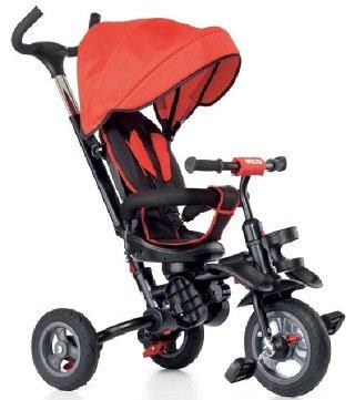 Triciclo Infantil Rojo Evolutivo
