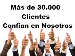Más de 30.000 Clientes
