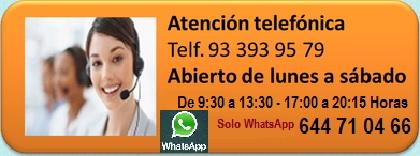 Servicio atención Telefoníca