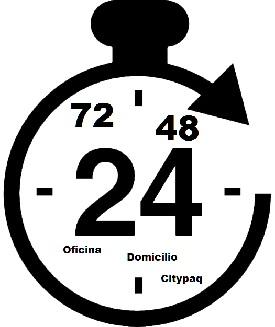 Tu eliges el tiempo y Modo de entrega